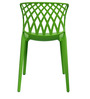 Trio Cafeteria Chair Set of Two in Green Color By Attro
