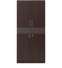 Triumph Two Door Wardrobe in Dark Walnut Colour by @home