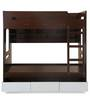 Trivor Bunk Bed in Dark Walnut Finish by @Home