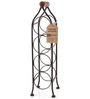 True Twine Climbing Tendril 4-Bottle Wine Rack
