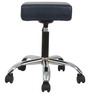 Trum Bar Stool in Navy Blue Color by The Furniture Store