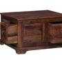 Trydelt Big Trunk in Provincial Teak Finish by Amberville