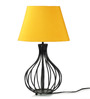 Tu Casa Yellow Poly Cotton Oval Lamp Shade