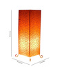 Tu Casa Printed Metal Floor Lamp