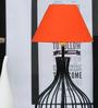 Tu Casa Orange Poly Cotton Lamp Shade