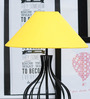 Tu Casa Pyramid Yellow Poly Cotton Lamp Shade