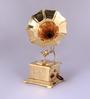 Tu Casa Vintage Decorative Gramophone-Square Metal Base