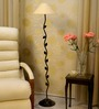 Tu Casa Black  Floor Lamp