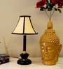 Tu Casa Black & Beige Table Lamp