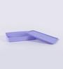Tupperware Purple Plastic Cool n Fresh 600ML Airtight Container Set of 4