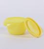 Tupperware Versa Yellow Plastic 650ML Bowl with lid - Set of 4