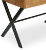 Turin Study Table in Natural Finish by The ArmChair