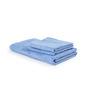 Turkish Bath Blue Cotton 28 x 60 Inch Towel - Set of 3