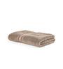 Turkish Bath Brown Cotton 30 x 57 Inch Bath Towel