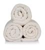 Turkish Bath White 100% Cotton 30 x 56 Bath Towel - Set of 3