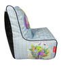 Turtle Digital Printed Bean Chair Cover in Multicolour by Orka
