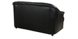 Two Seater Sofa in Black Colour by Parin