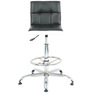 Twino Bar Chair in Black & White by The Furniture Store