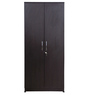 Two Door Wardrobe with Storage in Wenge Finish by KS