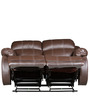 Two Seater Recliner in Brown Colour by Star India