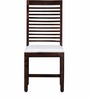 Winona Sheesham Wood Dining Chair in Provincial Teak Finish by Woodsworth