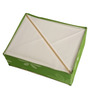 UberLyfe Green Polyester and Cardboard 8 Cell Divider Storage Box with Lid