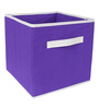 UberLyfe Cubies Storage Boxes for anything and everthing - Purple 7PC