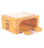 UberLyfe Yellow Polyester with Steel Frame Clothes Storage Box