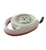 Ujala King White 7 Inch 2 Pin Extension Cord