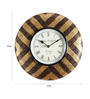 Unravel India Gold Brass Wall Clock