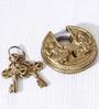 Unravel India Ganesha Lakshmi Brass Lock