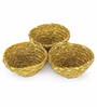 Unravel India Sabai Grass Bowl - Set of 3