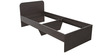 Urban Single Size Bed in Wenge Colour by Pine Crest