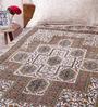Uttam Indian Ethnic Black Cotton 84 x 54 Inch Bed Sheet