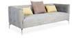 Valencia Three Seater Sofa in Grey Colour by Urban Living