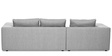 Vavery L Shape Sofa in Light  Grey Colour by Madesos
