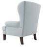 Valgoma Wingback Chair in Light Blue Colour by Madesos
