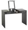 Vanity Table with a Sleek Design and Hidden Mirror by AfyDecor