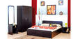 Vegas Bedroom Set with Storage by StyleSpa
