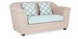 Venice Two Seater Sofa in Beige Colour by Urban Living