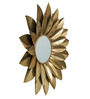 Dredg Decorative Mirror in Gold by Bohemiana