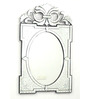 Aylmer Decorative Mirror in Silver by Amberville