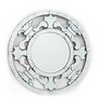 Baronet Decorative Mirror in Silver by Amberville
