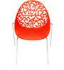 Elegantly Designed Red VisitorChair by Ventura