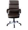 Ventura High Back Executive Chair in Brown Colour by Nilkamal