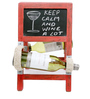 Vermilion Ladder Style Red Wine Rack by Desi Jugaad