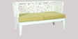 Vino Two Seater Sofa in White Colour by HomeTown