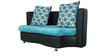 Virgo Three Seater Sofa (Support on Right Corner) by Stellar