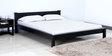 Visaya Handcrafted King Size Bed in Espresso Walnut Finish by Mudramark