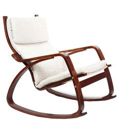 vita rocker chair in beige colour by hometown vita rocker chair in
